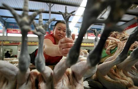 Lihan kulutus lisääntyy jatkuvasti esimerkiksi Aasiassa.