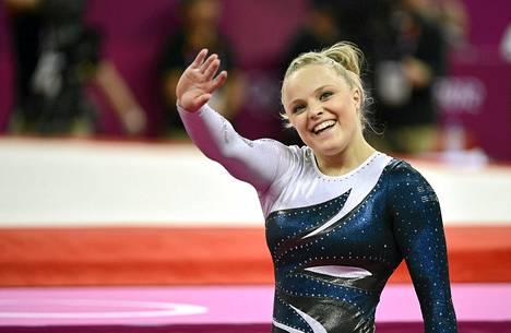 Annika Urvikko voimisteli olympiakarsinnassa yhteispisteet 48,815.
