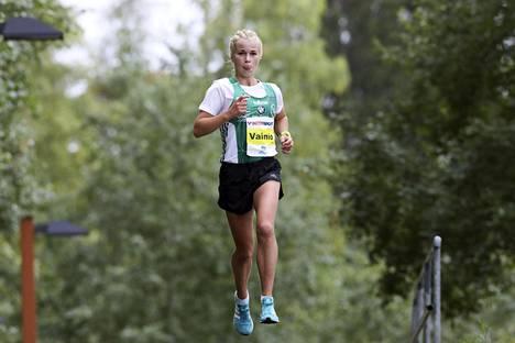 Alisa Vainio joutui keskeyttämään Jyväskylän SM-maratonin.