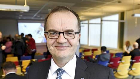 Tekesin pääjohtaja Pekka Soini
