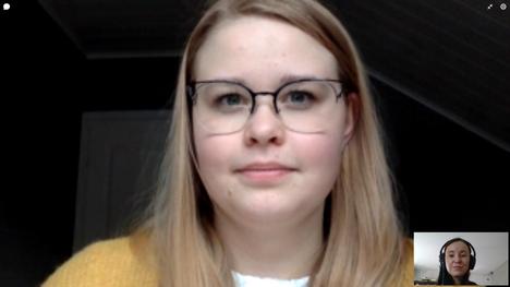 Riskiryhmään kuuluvalla Roosa Järventaustalla on ykköstyypin diabetes ja munuaisten vajaatoiminnan estolääkitys. Järventausta haastateltiin videopuhelun välityksellä.