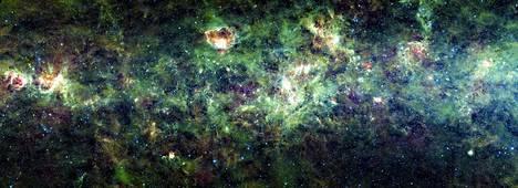 NASA:n kuva Linnunradan osasta.