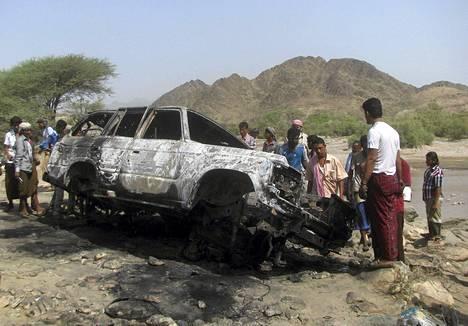 Yhdysvallat teki lennokki-iskun Lahjiin Jemeniin viime elokuussa.