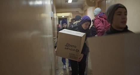 Ukrainalainen orpokoti saa lahjoituksia Suomesta.
