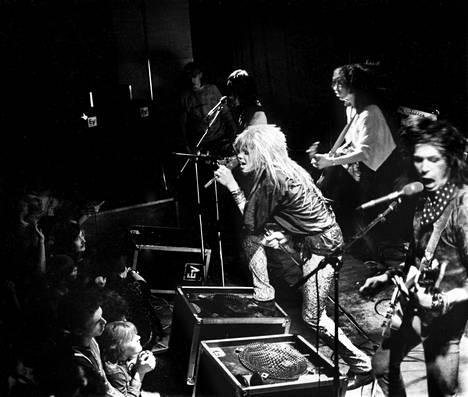 Hanoi Rocks Tavastialla vuonna 1982.