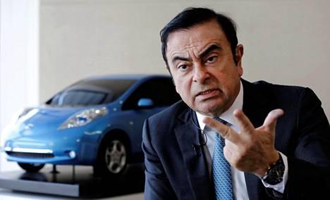 Nissanin hallituksen puheenjohtaja Carlos Ghosn on pidätetty.