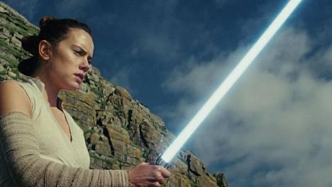 Rey (Daisy Ridley) on yksi uusien Tähtien sota -elokuvien sankareista.