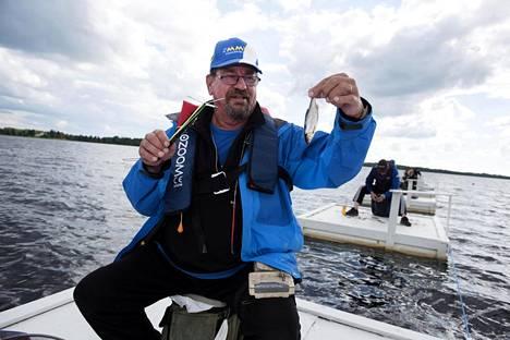 Asko Korsman oli pitkään finaalin kärkijoukkoa. Hänenkään vonkaleensa eivät tämän vuoden finaalissa olleet suuren suuria.