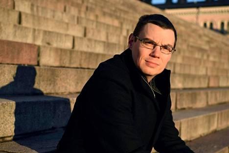 Helsingin yliopiston tutkija Henrik Forsberg Helsingissä 22. tammikuuta.