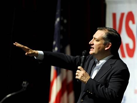 Yhdysvaltain republikaanipuolueen presidenttiehdokkaaksi yrittävä Ted Cruz voitti Donald Trumpin selvin luvuin Kansasissa ja Mainessa.