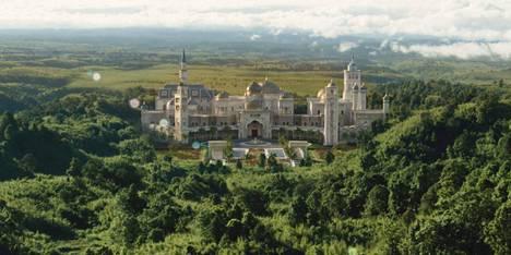 Prinssille morsian 2- elokuvaa kuvattiin räppäri Rick Rossin kartanossa Atlantan laitamilla.