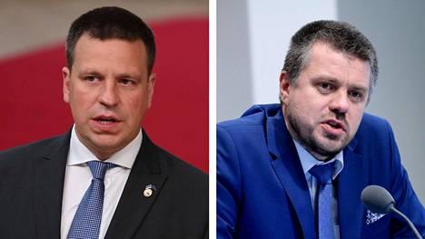 Viron pääministeri Jüri Ratas ja ulkoministeri Urmas Reinsalu ovat eri mieltä Viron entisen Suomen-suurlähettilään väittämien kanssa.