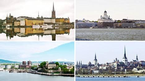 Helsingin seudun talouskasvu on kehittynyt 2000-luvulla monia Itämeren kaupunkiseutuja hitaammin. HS:n vertailun perusteella Helsingin seutua nopeammin ovat kasvaneet muun muassa Tukholman, Oslon ja Tallinnan seudut.