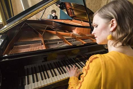 Maria Männikkö ja Pauli Kari ovat jo useamman vuoden ajan tuottaneet konsertteja nimellä Kaskenmäen kotikonsertit.