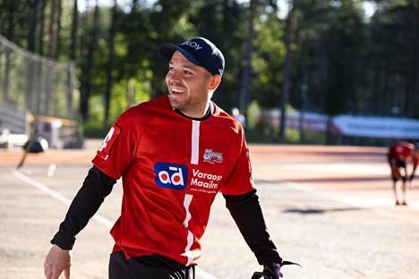 Juha Puhtimäen hymy oli herkässä välieräpaikan varmistuttua.