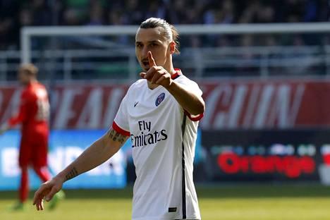 Zlatan Ibrahimović on vahvojen huhujen mukaan lähdössä Ranskasta ja PSG:stä.