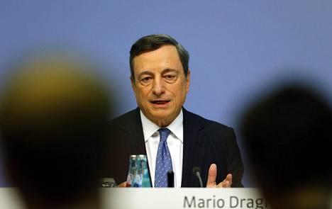 Euroopan keskuspankin pääjohtaja Mario Draghi.