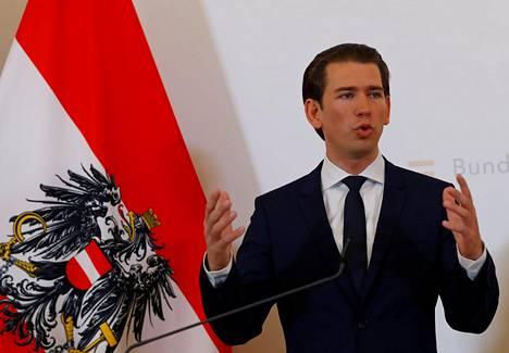 Itävallan liittokansleri Sebastian Kurz