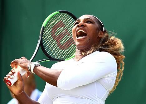 Serena Williams jahtaa Wimbledonissa uransa 24:tä grand slam -mestaruutta.