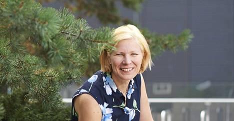 Marjo Matikainen-Kallström kuvattuna vuonna 2015.
