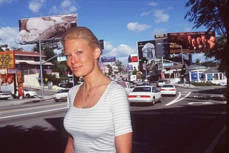 Linda Brava Lampenius Los Angelesissa vuonna 1998.