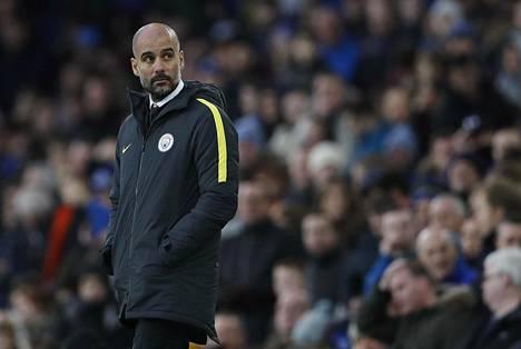Sunnuntai oli murheellinen päivä Pep Guardiolalle ja Manchester Citylle.