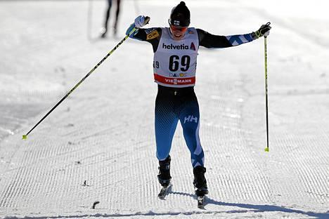 Matti Heikkinen oli parhaana suomalaisena 11:s Davosissa.