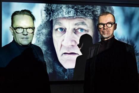 Tanu-Matti Tuominen (vasemmalla) ja Timo Argillander perustivat sijoitusyhtiön, jonka ensimmäinen kohde oli Sorjonen-tv-sarja.