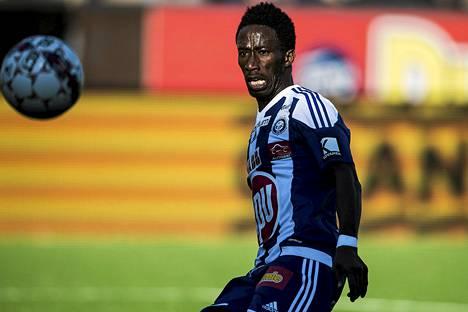 HJK:n Demba Savage teki kauden viidennen maalinsa.