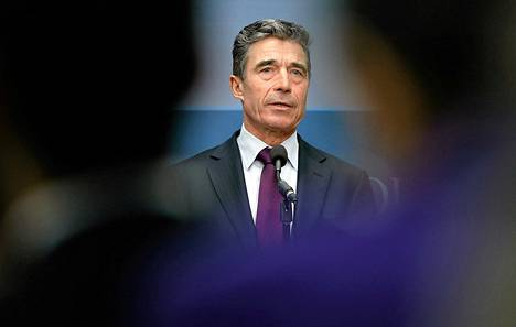 Naton pääsihteeri Fogh Rasmussen.