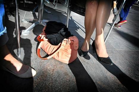 Taskuvarkaudet ovat lisääntyneet etenkin keskustan ravintoloissa.