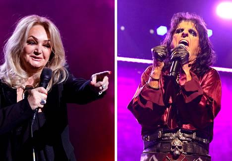 Bonnie Tyler (vas.) esiintyi Saksassa toukokuussa 2019. Alice Cooper esiintyi paluukiertueellaan Sydneyssä Australiassa vuoden 2020 helmikuussa.