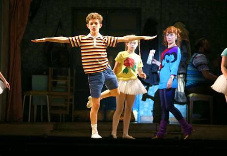 Billy Elliottia esitettään ympäri maailmaa. Kuva on Hampurin Grossmarkt -teatterin esityksestä viime vuodelta.