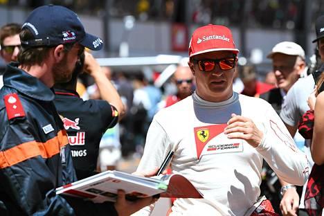 Kimi Räikkönen Monacossa toukokuussa.