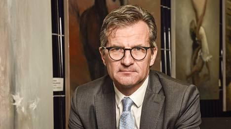 Ruotsin rahoitusvalvojan FI:n johtaja Erik Thedéen.
