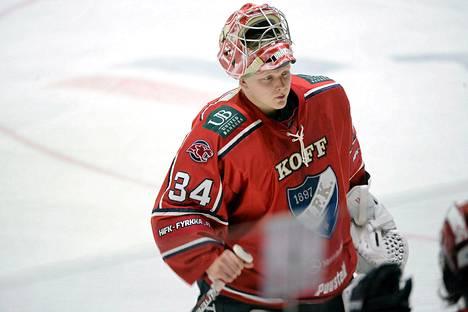 HIFK hankki Ville Hussolle tuuraajan.