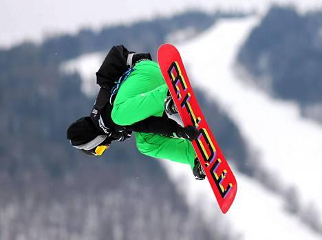Seamus O'Connor tavoittelee Irlannin ensimmäistä mitalia talviolympialaisissa.