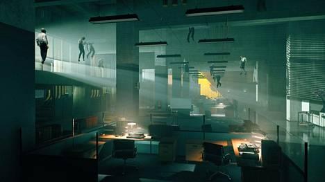 Control-pelissä taistellaan paranormaaleja voimia vastaan.