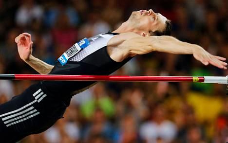 Bogdan Bondarenko saattaa hypätä Zürichissä maailmanennätyksen.
