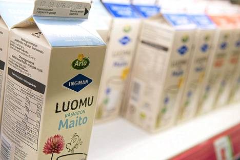 Arla Ingman nostaa maidon tuottajahintaa.