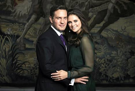 Prinsessa Madeleine ja Chris O'Neill