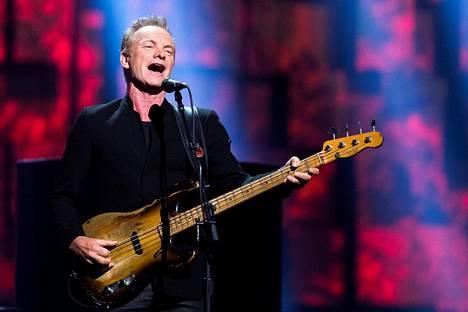 Sting aikoo vierailla Turun kaupunginteatterissa lähiaikoina.