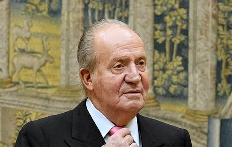 Espanjan entinen kuningas Juan Carlos