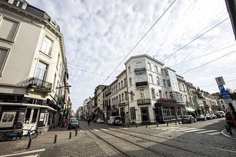 Rue de Bailli on hiljentynyt Brysselin keskustassa.