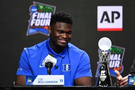 Zion Williamson on todennäköisesti ensi kesän ykkösvaraus ja osoitteeksi on tulossa New Orleans Pelicans.
