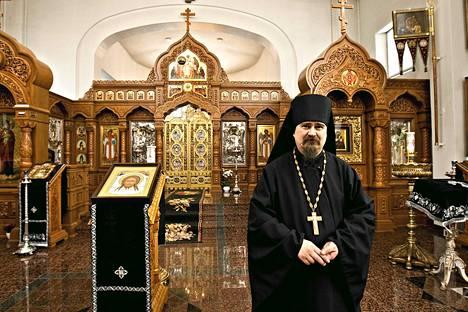 Arkkimandriitta Sergei on johtanut Heinäveden Valamon ortodoksiluostaria vuodesta 1997.