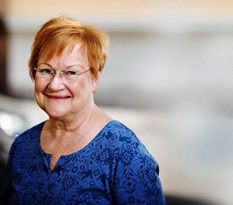 Tarja Halonen oli Suomen ensimmäinen naispresidentti. Moni haastatelluista nosti hänet esiin.