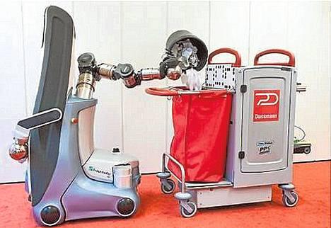 Toimistot ovat melko samanlaisia, mikä sopii siivousrobotille.