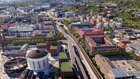 Helsingin kaupunki järjesti suunnittelukilpailun Junatien sillan uusista järjestelyistä. Voittaneessa ehdotuksessa autoliikenne Kulosaaren sillalle kulkisi uudella rampilla.