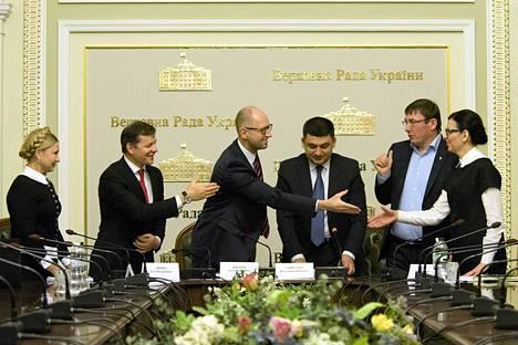 Ukrainan parlamentti julkaisi perjantaina halunsa liittyä Natoon.